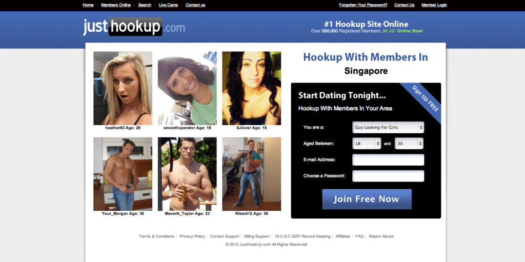lets just hook up website