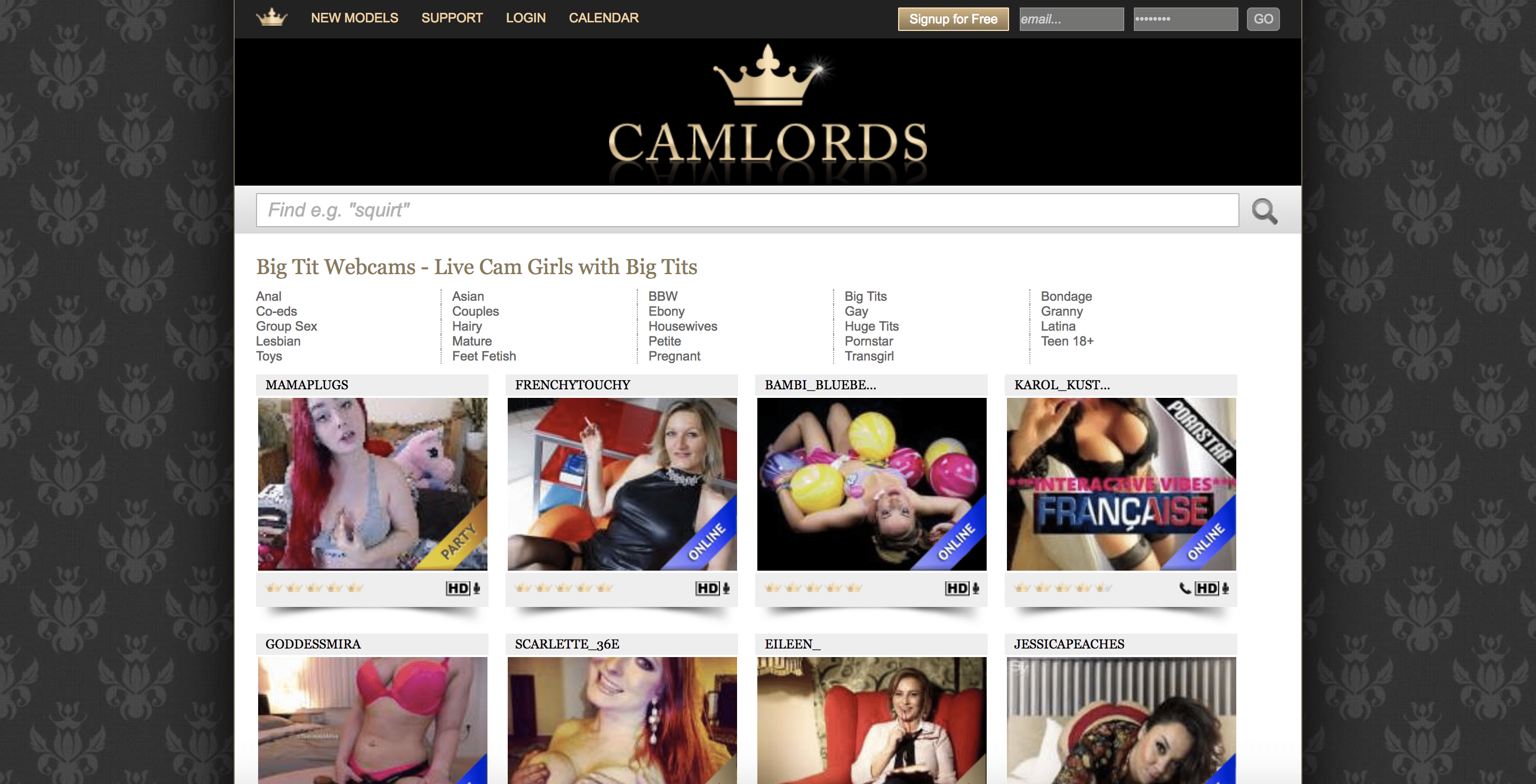 Cam Lords - Second best webcam site
